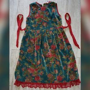 Children's Vintage Christmas Dress